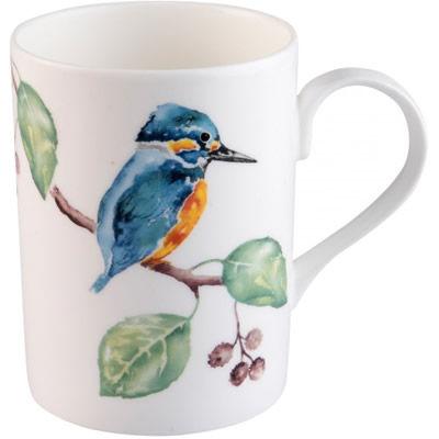 RSPB Birds Kingfisher Glory Lucy Mug Berries