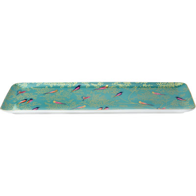 Sara Miller Chelsea Collection Sandwich Tray 36cm Chelsea Green