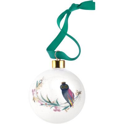 Sara Miller Christmas Collection Christmas Decoration Festive Owl