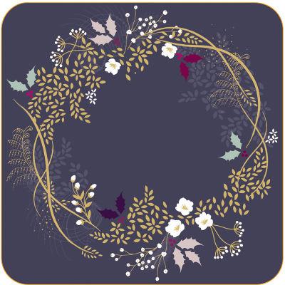 Sara Miller Placemats & Coasters Collection Coaster Set of 6 Garland