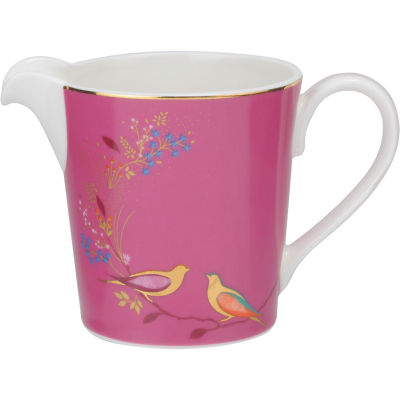 Sara Miller Chelsea Collection Cream Jug Chelsea Pink