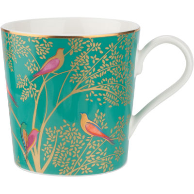 Sara Miller The Collection Mug Chelsea Green