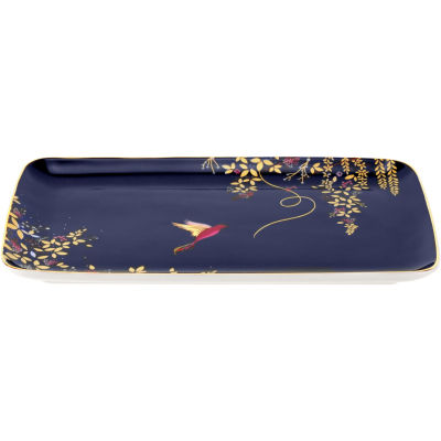 Sara Miller Chelsea Collection Biscuit Tray 19cm Chelsea Navy Blue