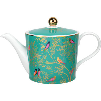 Sara Miller Chelsea Collection Teapot Chelsea Green