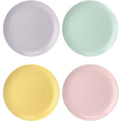 Sophie Conran Colour Pop Coupe Plate 22cm Set of 4