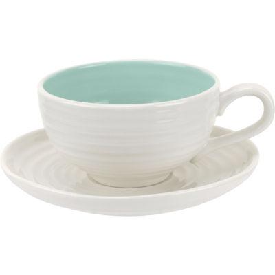 Sophie Conran Colour Pop Teacup & Saucer Celadon
