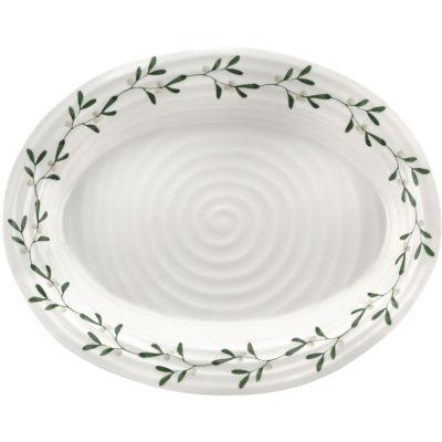 Sophie Conran Mistletoe Amor Oval Platter Medium 37cm
