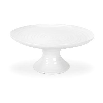 Sophie Conran White Footed Cake Plate 24cm