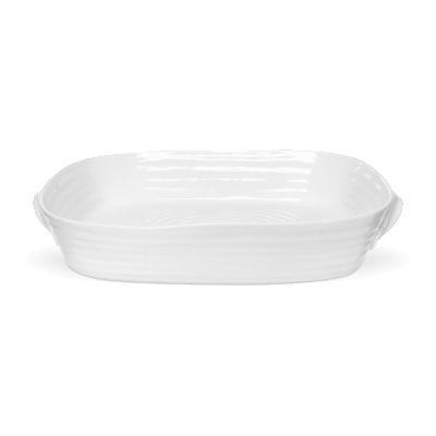 Sophie Conran White Handled Roasting Dish Large 36cm