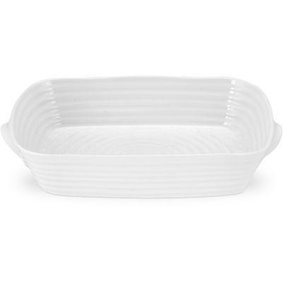 Sophie Conran White Handled Roasting Dish Medium 33cm