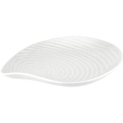 Sophie Conran White Large Shell Plate