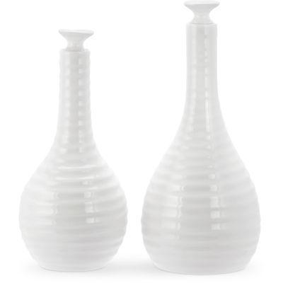 Sophie Conran White Oil & Vinegar Set