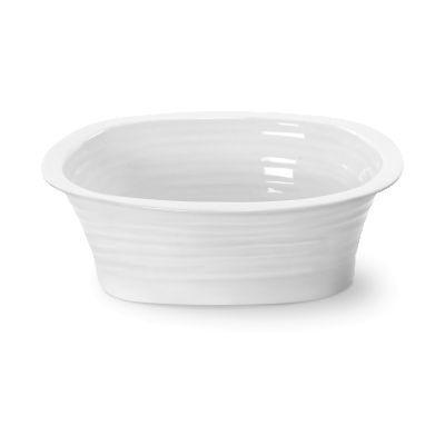 Sophie Conran White Pie Dish Rectangular 19cm