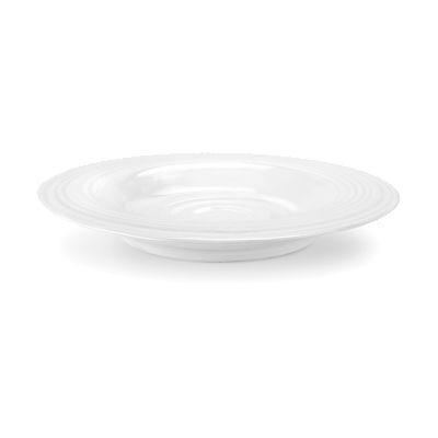 Sophie Conran White Rimmed Soup Plate 25cm