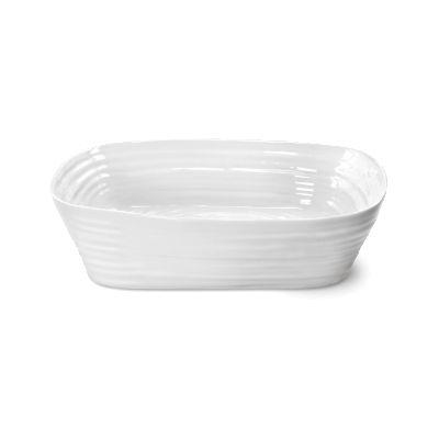 Sophie Conran White Roasting Dish Rectangular Large 29cm