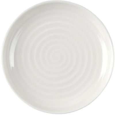 Sophie Conran White Round Coupe Plate 10cm