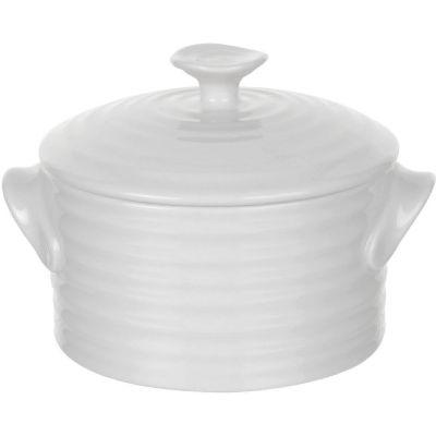 Sophie Conran White Round Lidded Pot