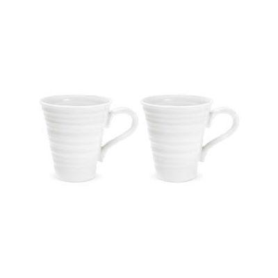 Sophie Conran White Solo Mug 0.2L Set of 2