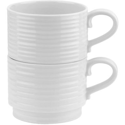 Sophie Conran White Stackable Cup Set of 2