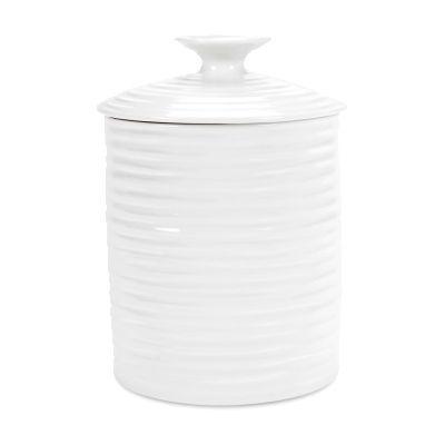 Sophie Conran White Storage Jar Medium 14cm