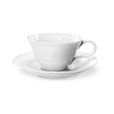 Sophie Conran White Teacup 0.3L & Saucer