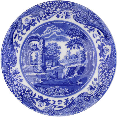 Spode Blue Italian Breakfast Saucer