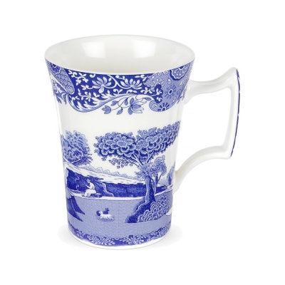 Spode Blue Italian Coffee Mug 0.28L