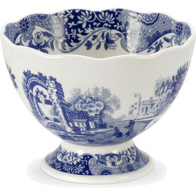 Spode Blue Italian Footed Dish