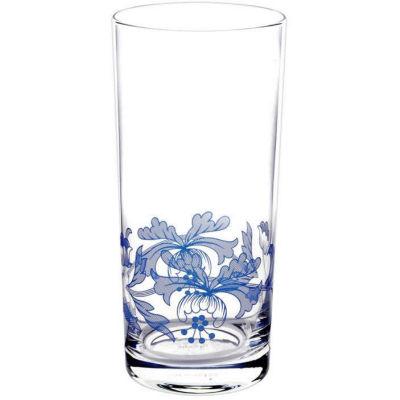 Spode Blue Italian Hiball Glass Set of 4