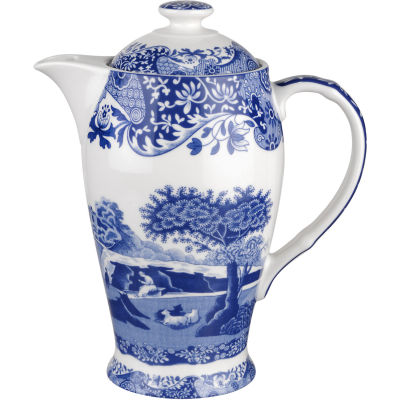 Spode Blue Italian Hot Beverage Pot