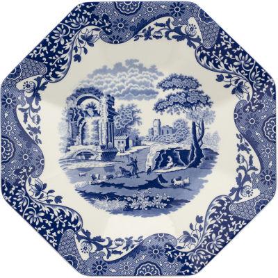 Spode Blue Italian Octagonal Platter 35.5cm