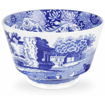 Spode Blue Italian Open Sugar Bowl 0.3L