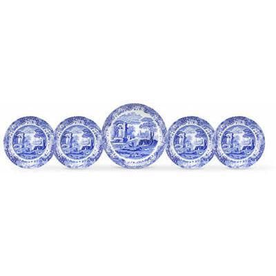 Spode Blue Italian Pasta Bowl Set of 5