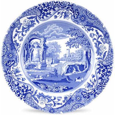 Spode Blue Italian Plate 20cm