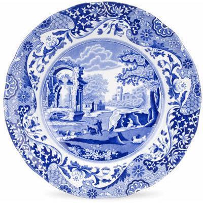 Spode Blue Italian Plate 23cm