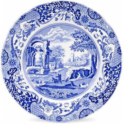 Spode Blue Italian Plate 27cm