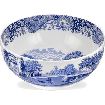 Spode Blue Italian Round Bowl 27.5cm