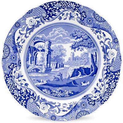 Spode Blue Italian Round Platter 30cm