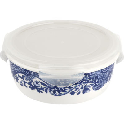 Spode Blue Italian Sealable Storage Container Large