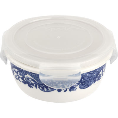 Spode Blue Italian Sealable Storage Container Medium