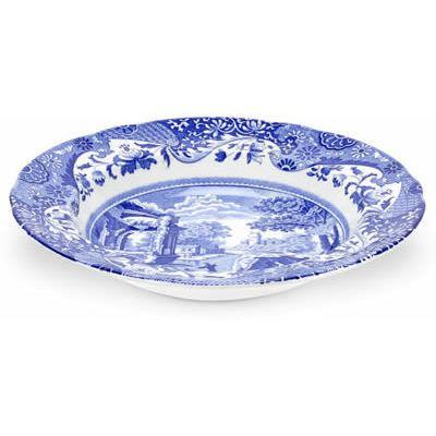 Spode Blue Italian Soup Plate 23cm