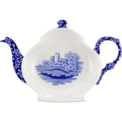 Spode Blue Italian Teabag Holder