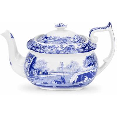 Spode Blue Italian Teapot 1.1L