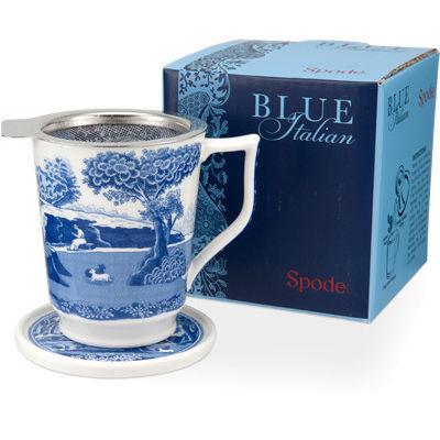 Spode Blue Italian Tisaniere