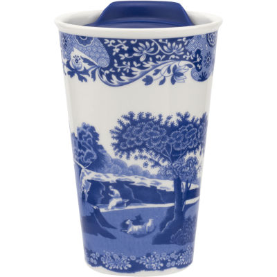 Spode Blue Italian Travel Mug 0.23L