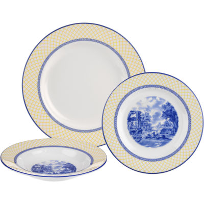Spode Giallo 3 Piece Set