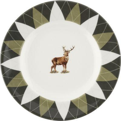 Spode Glen Lodge Plate 15cm Stag