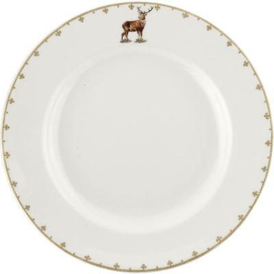 Spode Glen Lodge Plate 27cm Stag