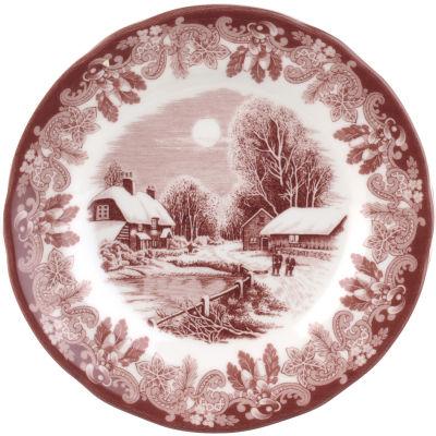 Spode Winter's Scene Plate 15cm