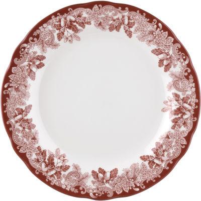 Spode Winter's Scene Plate 27cm
